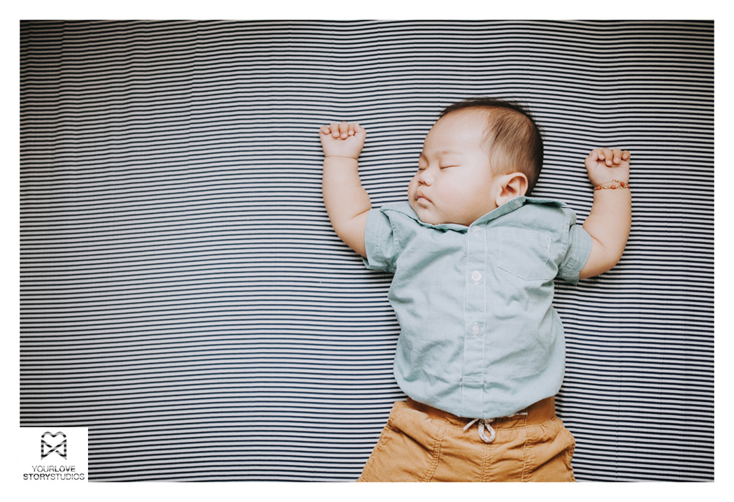 Baby Leon at five months Baby Photo Session Davao City
