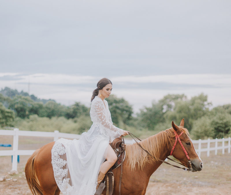 Vanessa Bactad in Triple Crown Ranch Photoshoot